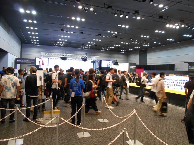 画像: ▲午前10時から入場開始。多くのファンが詰めかけた。