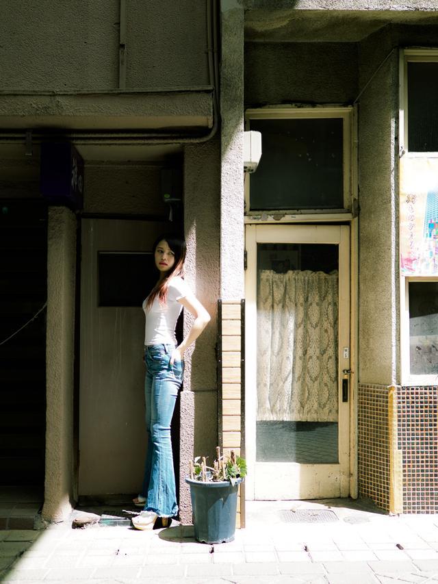 画像: 「久しぶりの撮影で楽しかったです」(モデルの守屋璃依紗) ●撮影:ハヤシアキヒロ