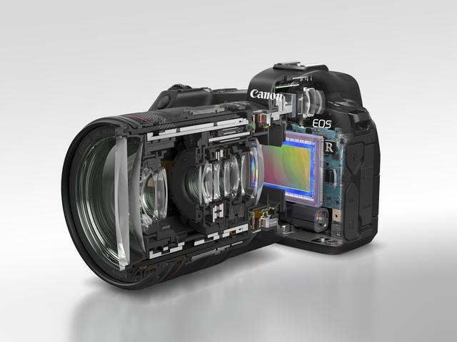 画像2: キヤノン初のフルサイズミラーレスカメラ「EOS R」