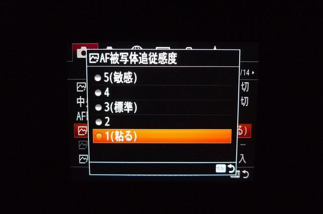 画像2: 山下さんのα7R Ⅲの「AF」設定