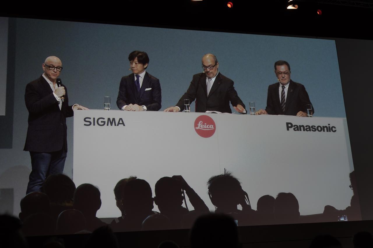 画像: ライカ、パナソニック、シグマの3社は「Lマウント」アライアンスを発表!