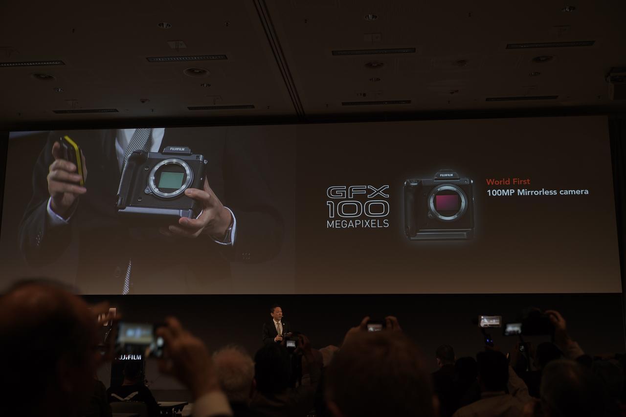 画像1: ついに1億万画素超のデジカメ「GFX 100 MEGAPIXELS」が開発発表!