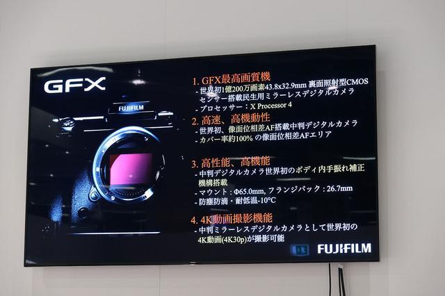 画像4: ついに1億万画素超のデジカメ「GFX 100 MEGAPIXELS」が開発発表!