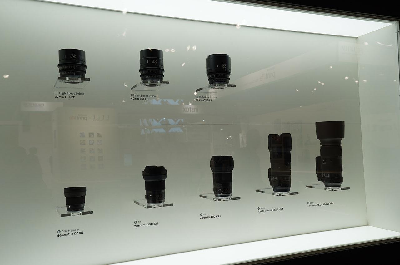 画像: 上の動画で紹介した新製品の展示ブース。