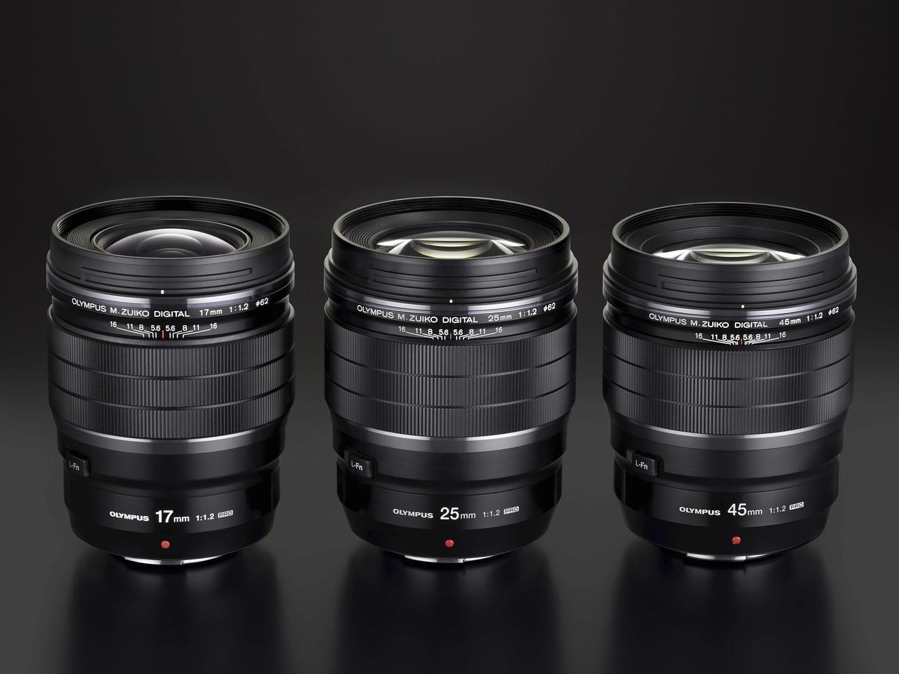 画像: 交換レンズ F1.2 PRO シリーズ