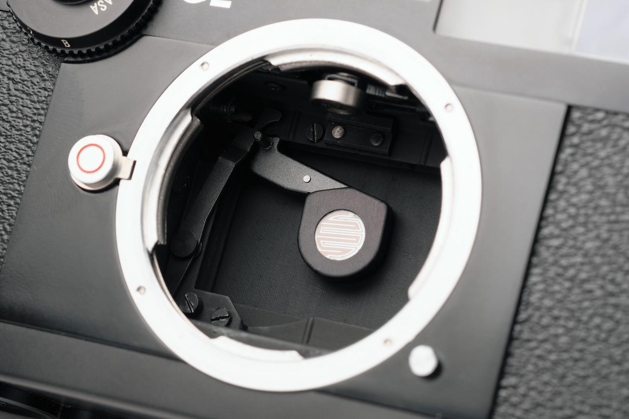 画像: ライツミノルタCLの測光用受光部