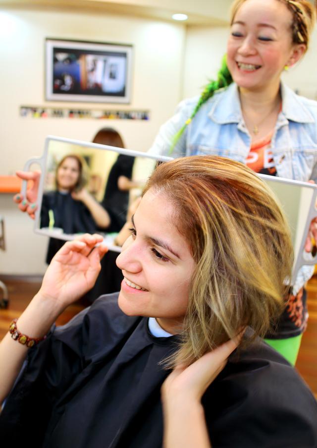 画像4: 博多美人のヒミツはレベルの高い美容師さんにアリ??