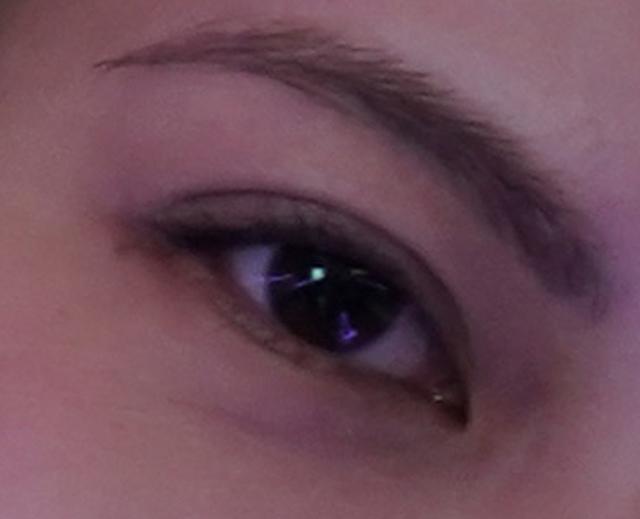画像: ▼目のアップ