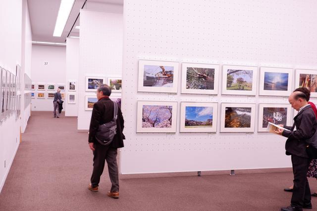 画像2: 広々とした素晴らしい空間に、余裕をもって作品が展示されています。