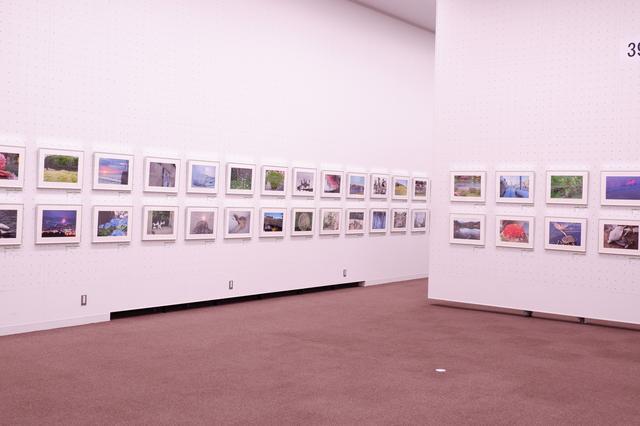 画像1: 広々とした素晴らしい空間に、余裕をもって作品が展示されています。