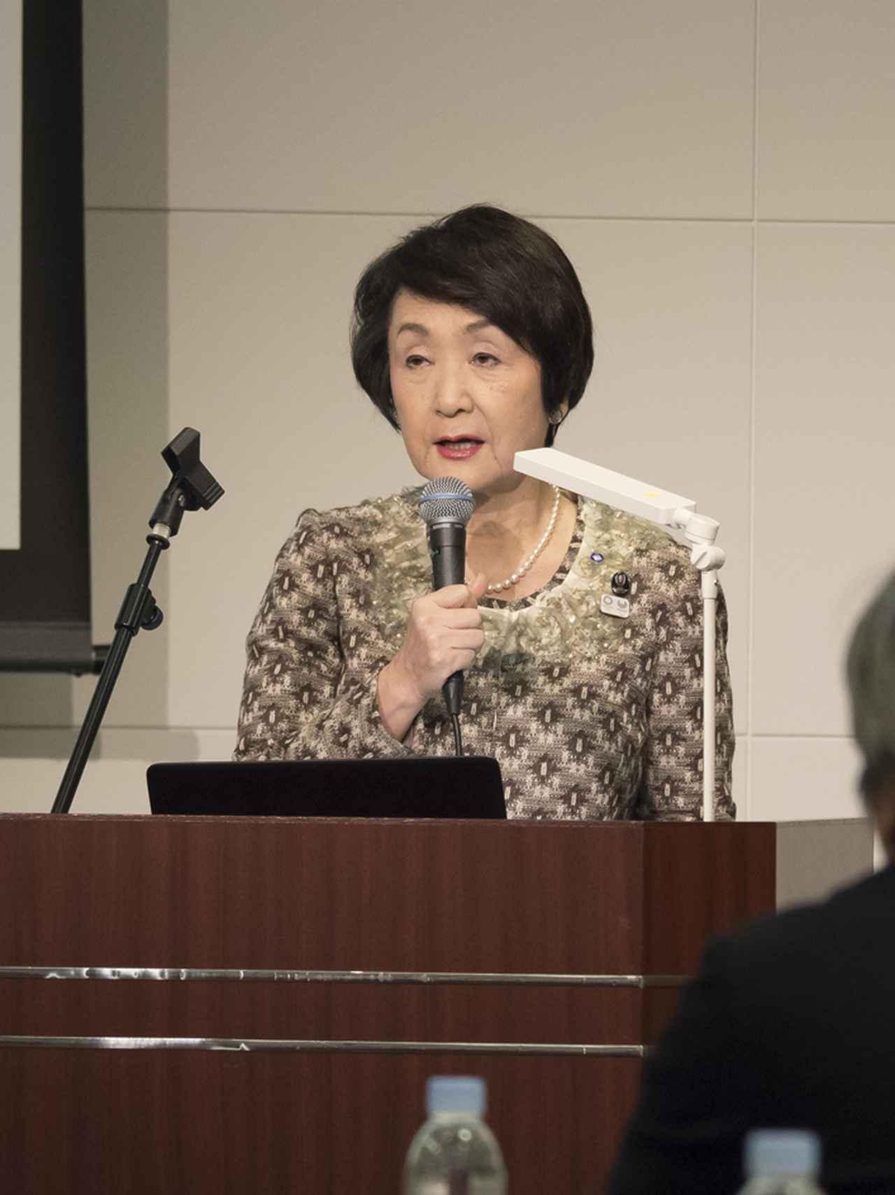 画像: 「写真とかかわりの深い歴史ある横浜でのイベントを誇らしく思います」と横浜市長の林 文子さん