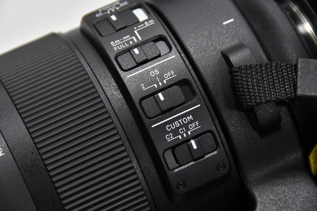 画像: 吸い付くように止まる手振れ補正OS(Optical Stabilizer)、流し撮りにはモード2