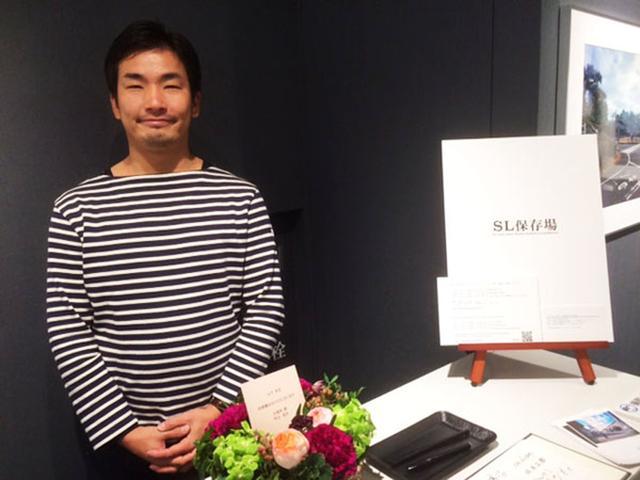 画像: 山下さん。彼はレイルマンフォトオフィス所属です。そう、社長さんは鉄道写真家・山崎友也氏です。