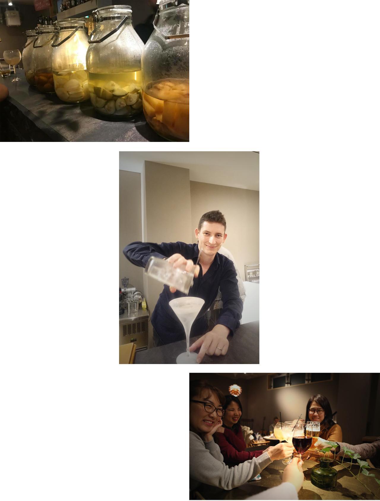 画像2: フレッシュジュースや自家製果実酒を使用したカクテルなども人気!
