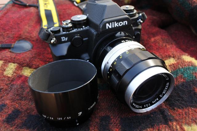画像: 「逆光で撮ってはいけない」というのは コーティング性能が悪かった時代の定説 1960年代のNIKKOR-Q Auto 135mm F3.5で撮影