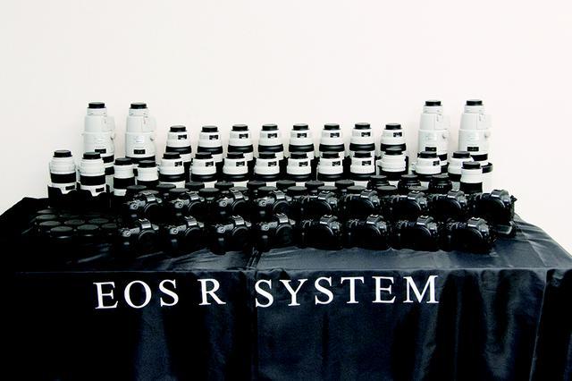 画像1: 今回使用したEOS R以外の主な機材