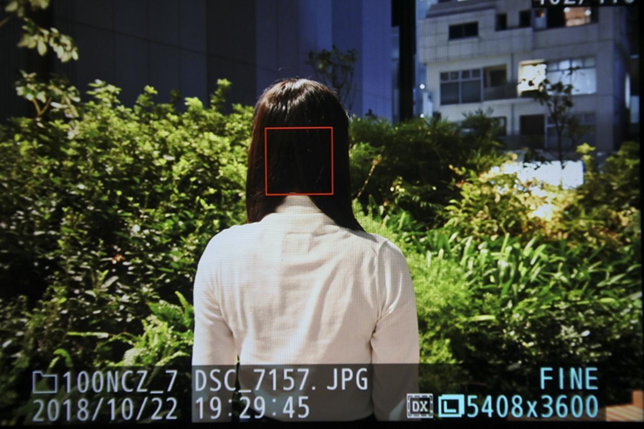 画像4: 近距離まで顔認識AFで目にピントが来た!