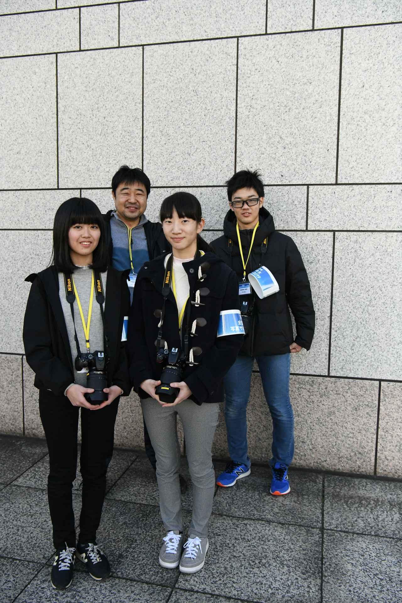 画像: ▲新潟より参加の中越高等学校のチーム。
