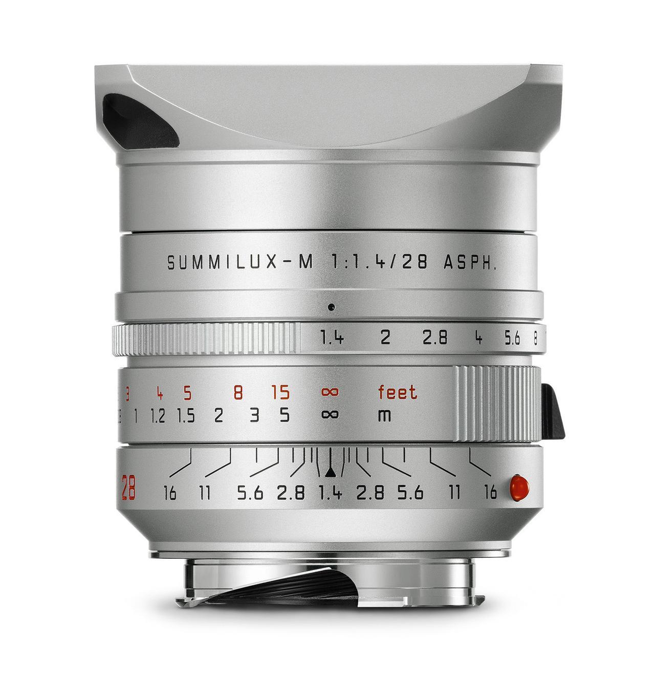 画像: ライカ ズミルックスM f1.4/28mm ASPH. シルバー