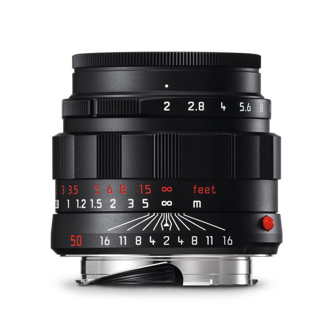 画像: ライカ アポ・ズミクロンM f2.0/50mm ASPH. ブラッククローム