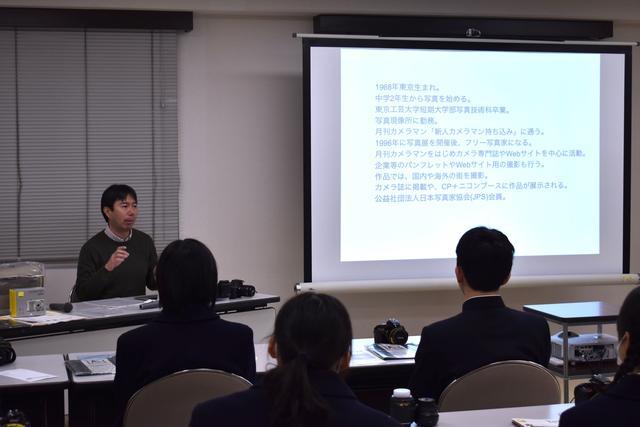 画像: ▲今回の講師を務めた藤井智弘さんによる講演からスタート。