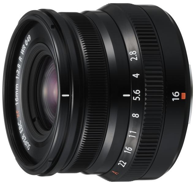 画像: フジノンXF16mmF2.8 R WRブラック