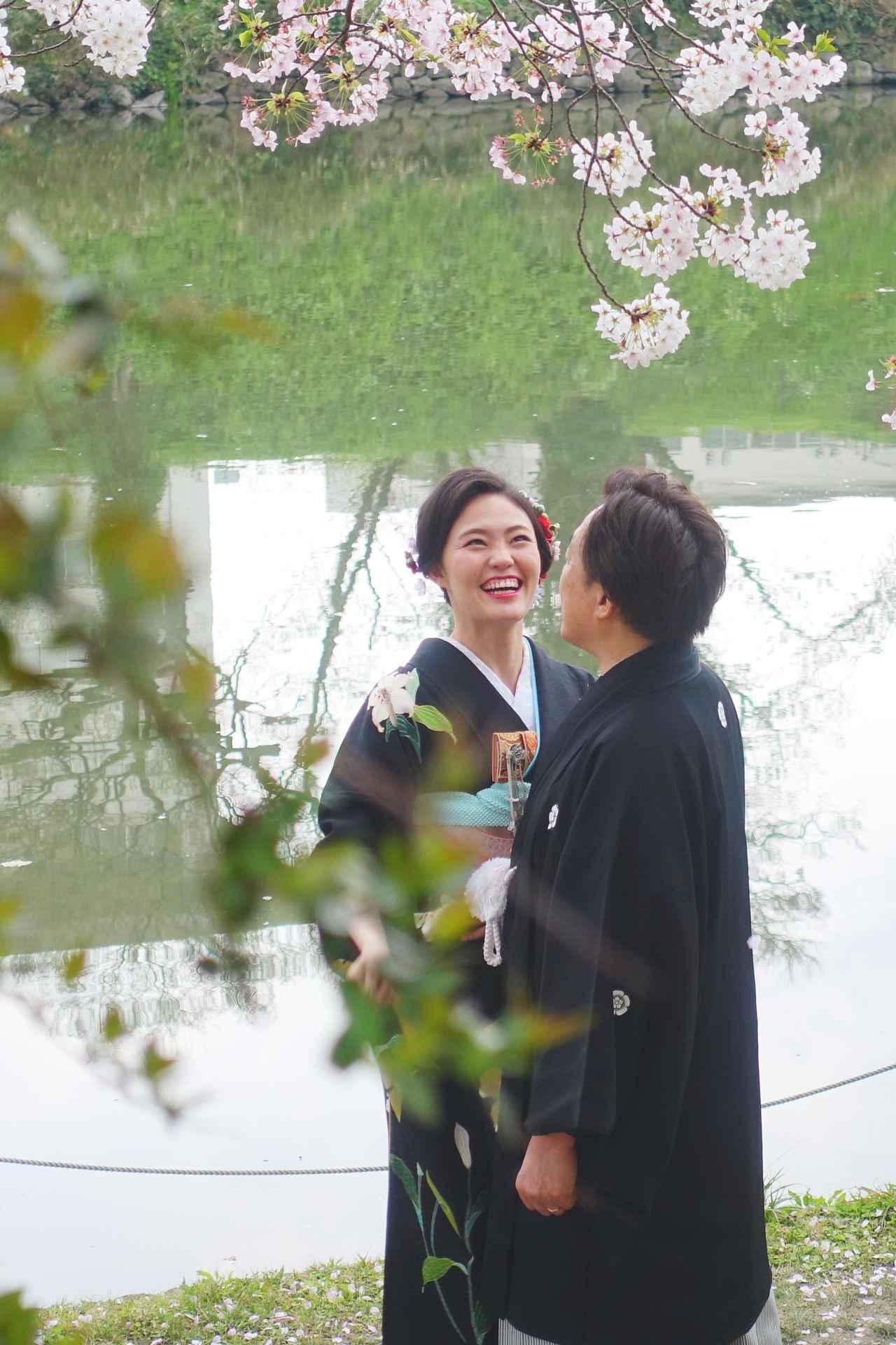 画像: オススメの撮影スポットその2〜福岡城の外堀