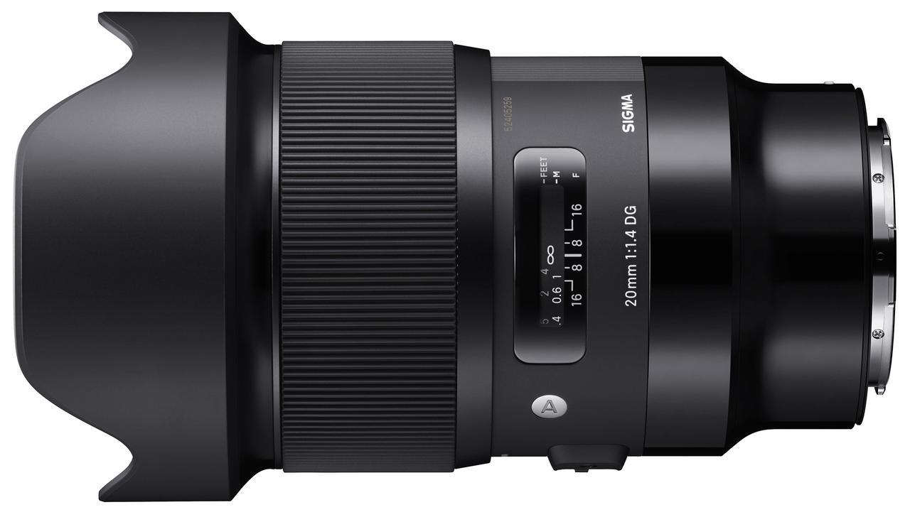 画像: SIGMA 20mm F1.4 DG HSM | Art