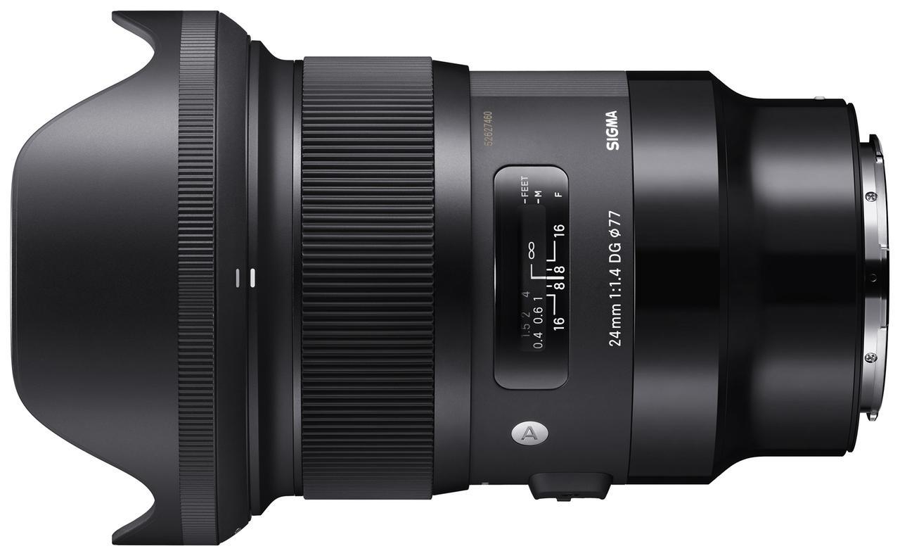 画像: SIGMA 24mm F1.4 DG HSM | Art