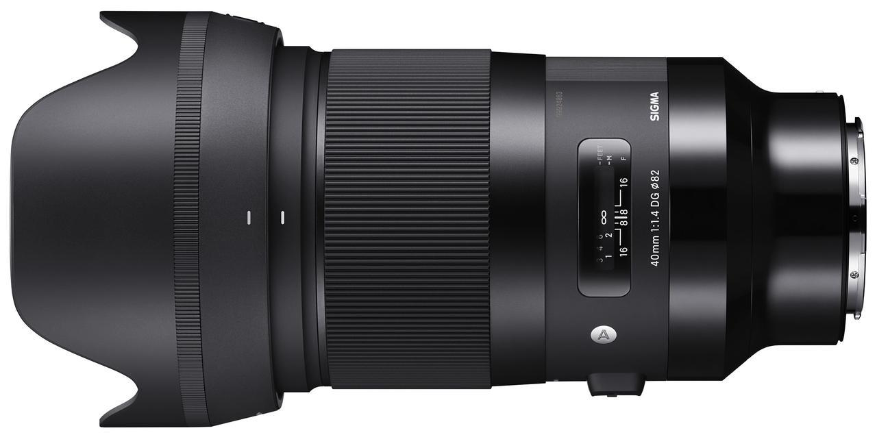 画像: SIGMA 40mm F1.4 DG HSM | Art