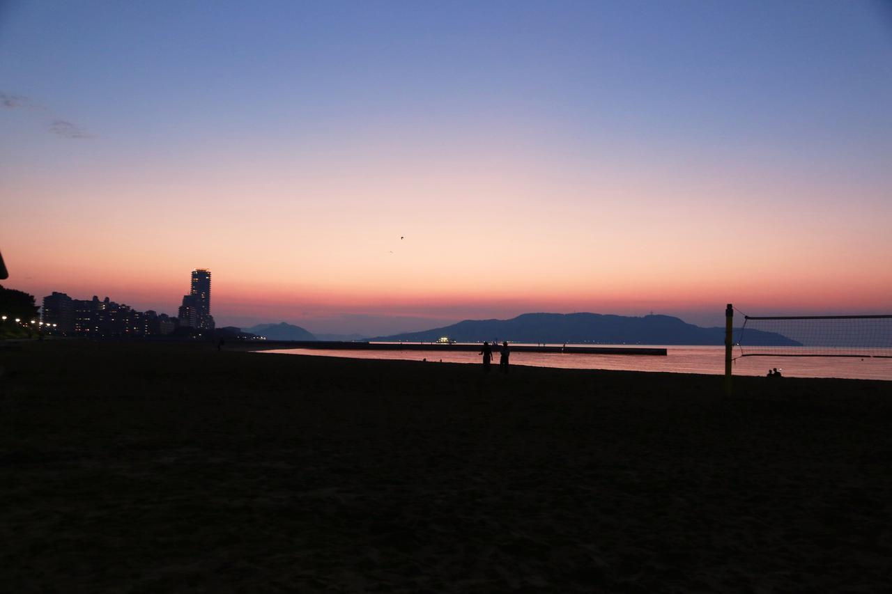 画像: 番外編〜博多湾の夕焼け!