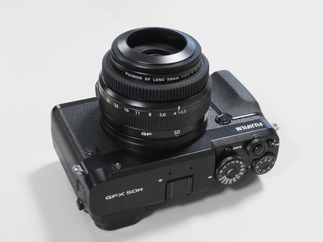 画像: フジノンレンズ GF 50mm F3.5 R LM WR
