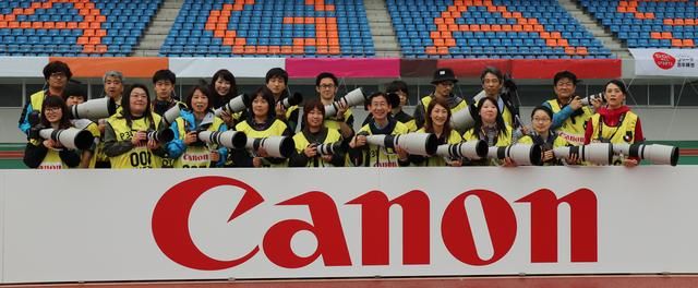"""画像: 写真は2018年に長崎で行われた""""EOS でJリーグを撮る""""撮影会。"""