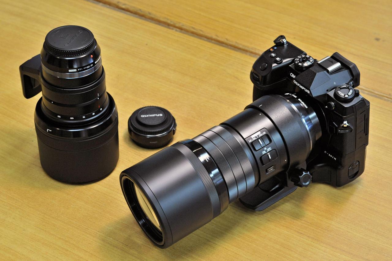 画像: 40-150mmは35mm換算で80-300mmF2.8に、300mmは600mmF4だ!