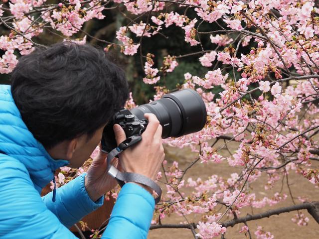 画像1: 並木さんの撮影状況