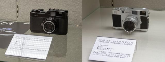 画像: 初のレンジファインダーデジタルカメラ、エプソンR-D1は平成16年。フィルムレンジファインダーのツァイス イコンは平成17年登場