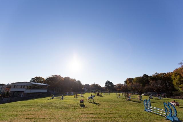 画像: ホースショーの開催や乗馬体験もできる那須トレーニングファームが撮影セミナー会場となります。