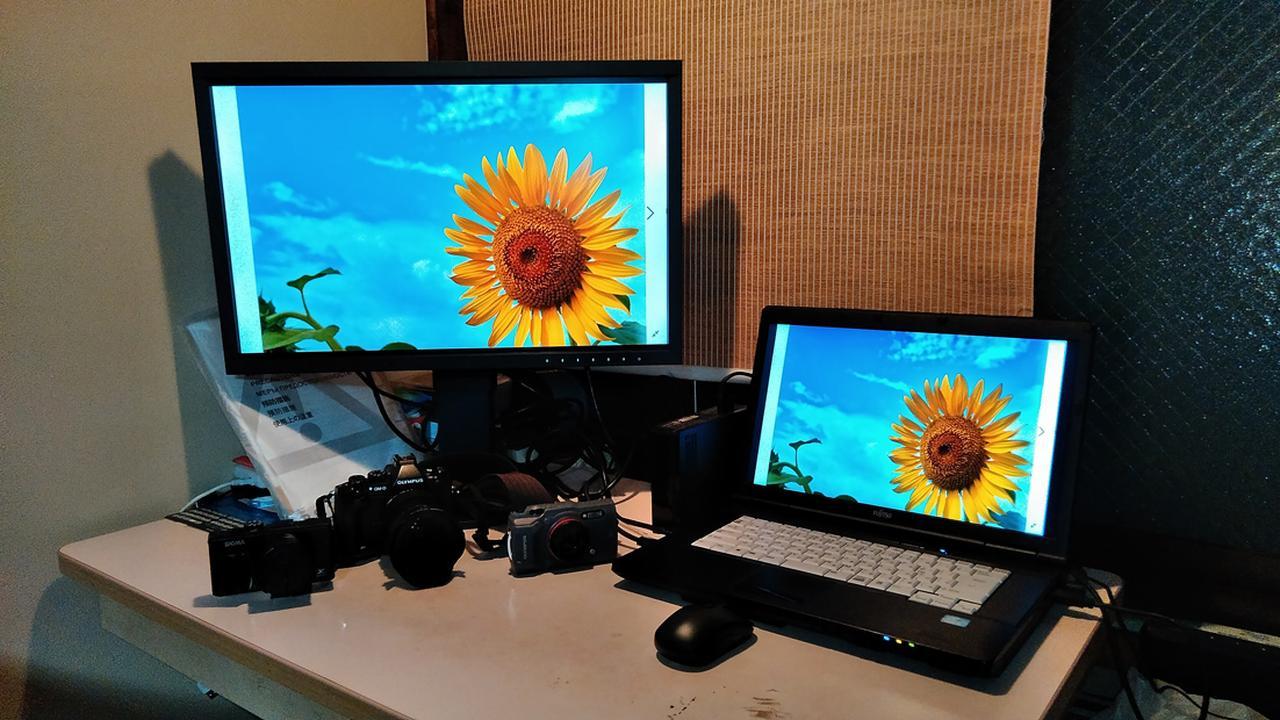 画像1: プリンターで印刷した写真がPCモニターと違いすぎる状況を解決したい
