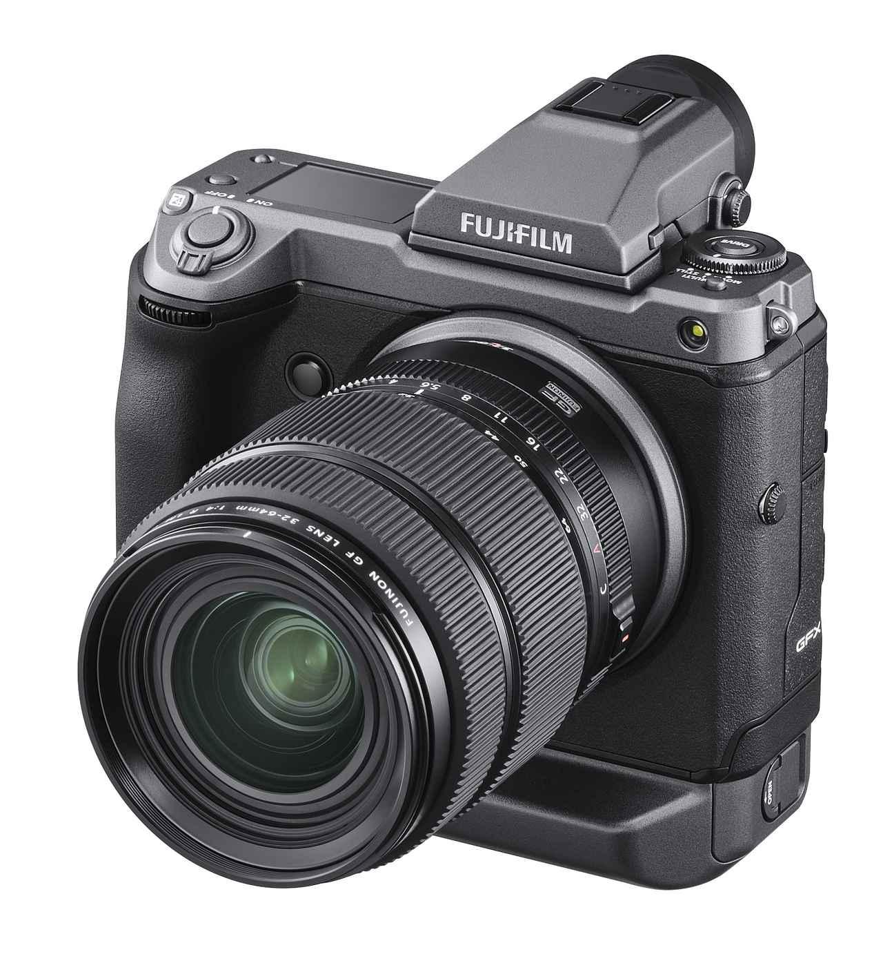 画像1: 富士フイルムは1億2百万画素ラージフォーマットセンサー搭載のミラーレスデジタルカメラ「FUJIFILM GFX100」を正式発表。発売は2019年6月下旬予定!
