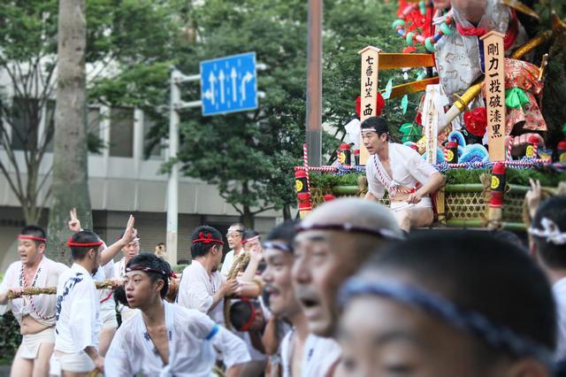 画像2: 博多祇園山笠はタイムを競う祭なんよ!