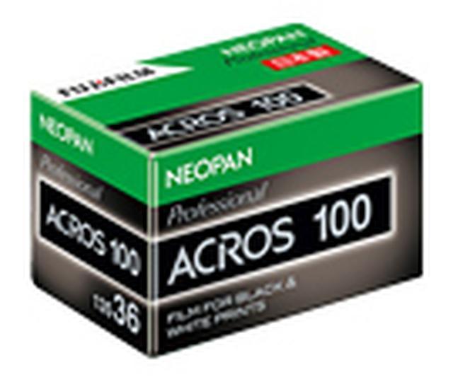 画像: 写真は昨秋販売終了となったネオパン 100 ACROS