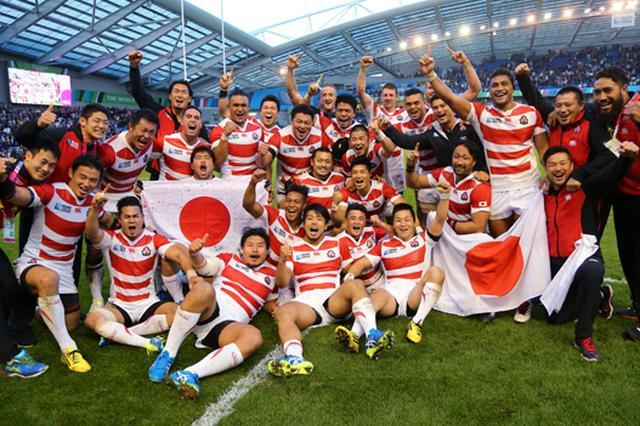 画像: キヤノン:キヤノンギャラリー|ラグビーワールドカップ2015™報道展『JAPANの衝撃』~4年前、イングランドで写真家たちが捉えた熱狂~