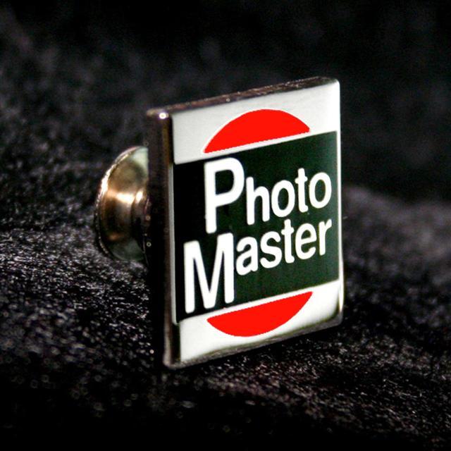 画像: フォトマスター1級合格バッチ