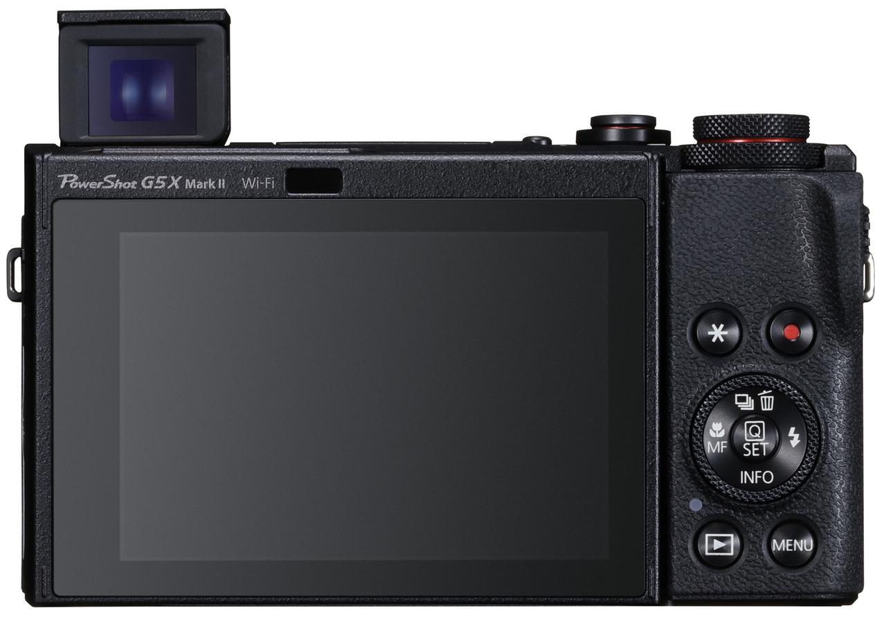 画像: PowerShot G5 X Mark II背面