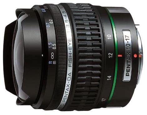 画像: 現行モデルのsmc PENTAX-DA FISH-EYE10-17mmF3.5-4.5ED[IF]