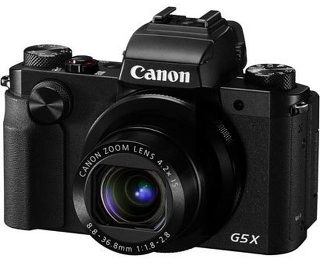 画像: ミニ一眼レフ的なスタイルの前モデルのPowerShot G5 X