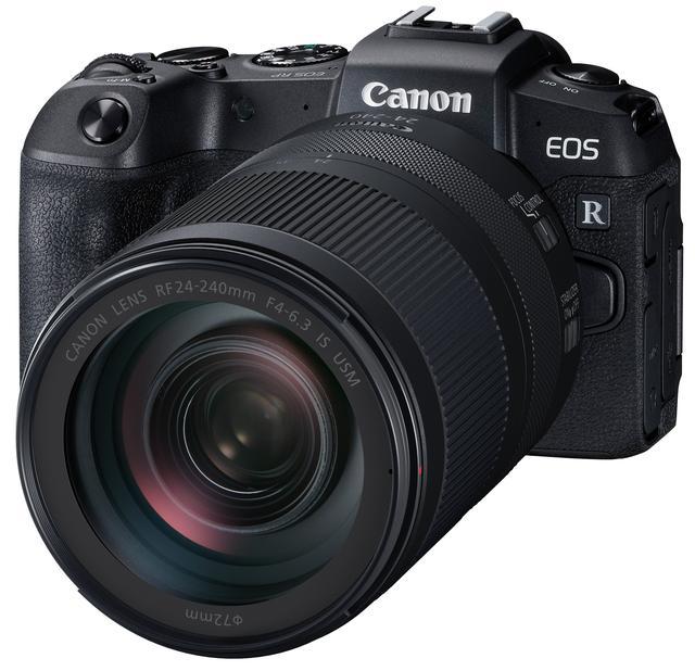 画像: EOS RPに装着したRF24-240mm F4-6.3 IS USM