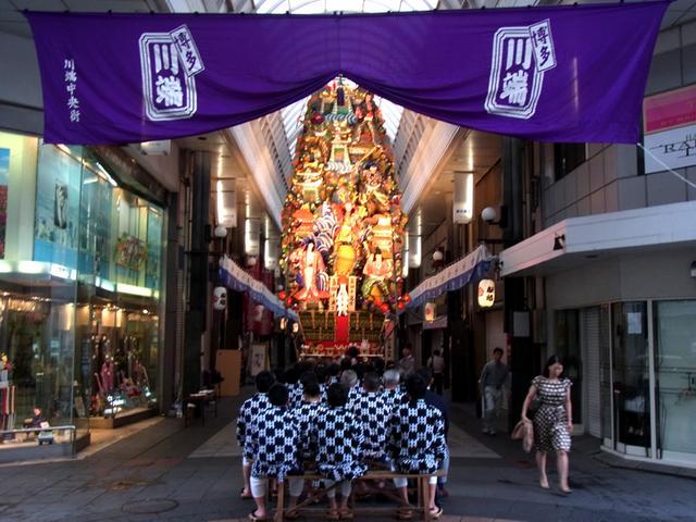 画像: 飾り山見物(7月1日〜7月14日)| |博多祇園山笠の情報なら山ナビ2019!