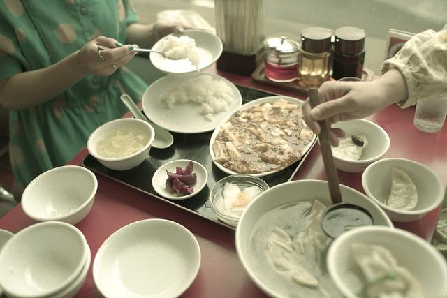 画像4: 代々木駅西口を見下ろす 「中国風レストラン 山水楼」