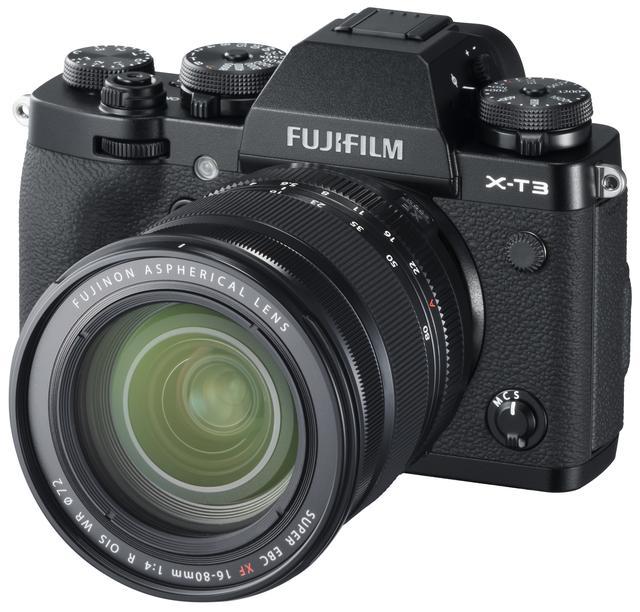 画像: X-T3に装着したXF16-80mmF4 R OIS WR
